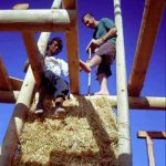 Construction of Straw Bale walls